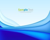 Blue Abstract Background Vector Background Art