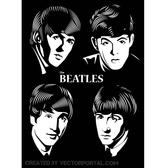 BEATLES VECTOR PORTRAIT.eps