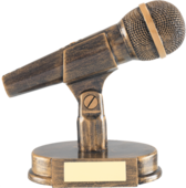 Microphone Trophy PSD