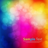 Abstract Background Colorful Bokeh Light