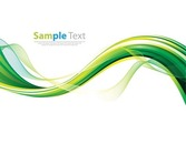 Smooth Wave Abstract Background