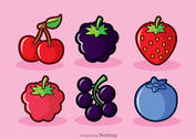 Berry Fruits Vectors