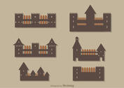 Simple Castle Icons