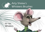 Arty Shrew's Whiskers Brushes