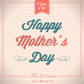 Happy mother's day retro freebie