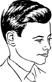 Medium Haircut With Side Part