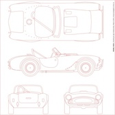 Shelby Cobra Blueprint