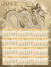 2012 Calendar Year of the Dragon