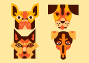 Free Dog Vector Pack