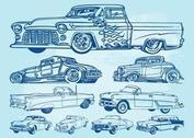 Oldtimer-Graphics