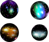 Colorful Balls PSD