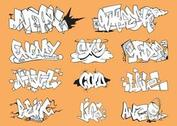 Graffiti Pieces Set