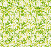 Green fern seamless background