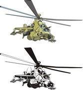 Combat Helicopters Doe