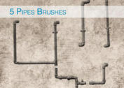 5 Pipes Brushes