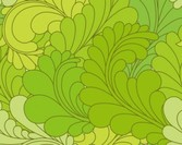 Seamless Ornate Floral Pattern