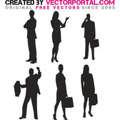 BUSINESS VECTOR SILHOUETTES.eps