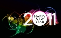 2011 HAPPY NEW YEAR POSTER FREE
