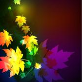 COLORFUL LEAVES VECTOR GRAPHICS.eps