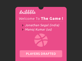 Welcome To Dribbble :)