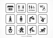 Free Rest Room Vector Icons