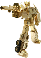 Gold Optimus Prime PSD