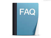 FAQ icon (PSD)