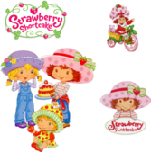 Strawberry Shortcake Package PSD