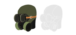 Vector Graphic Military Gas Masks