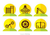 Flat Icons Playground Vector Pack