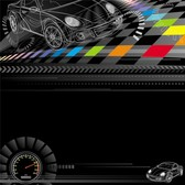 Racing theme design vector free | Download Free