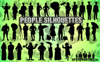 31 People Silhouettes