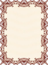 Classic Security Pattern Border 01