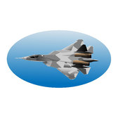 MILITARY FIGHTER AIRCRAFT VECTOR.eps