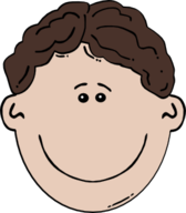 Boy Face Cartoon 3