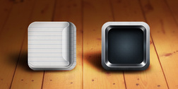 Retina-Ready iOS App Icon Templates (PSD)