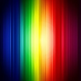 Abstract Rainbow Colorful Vertical Striped