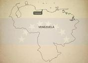 Free Vector Map of Venezuela
