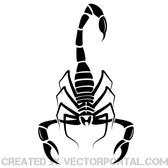 VECTOR IMAGE OF A SCORPION.eps