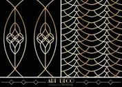 Free Art Deco Geometric Vector Patterns