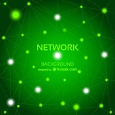 Vector abstract free network background