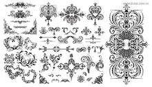 Variety Of Practical European-Style Lace Pattern
