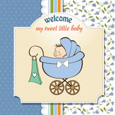 Cartoon baby card 03