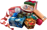 Pile of gifts PSD