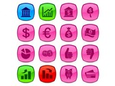 16 Corporate Business Vector Icons Set