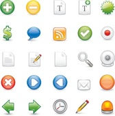 Scalable Illustrator format icons