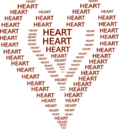 Heart ascii art