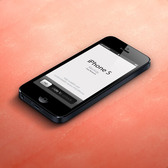 3D Ansicht iPhone 5 Psd Vector Mockup