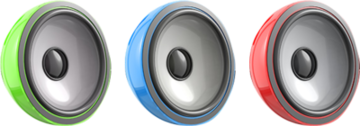 Colour Speakers PSD
