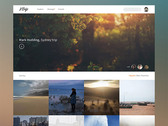 Travel video book - PSD template